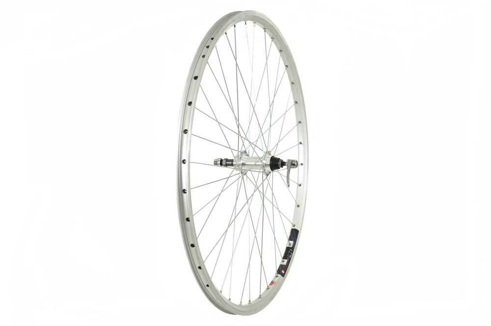 Raleigh 700C Rear Bike Wheel - Mach1's 240 Rim   Screw On Hub