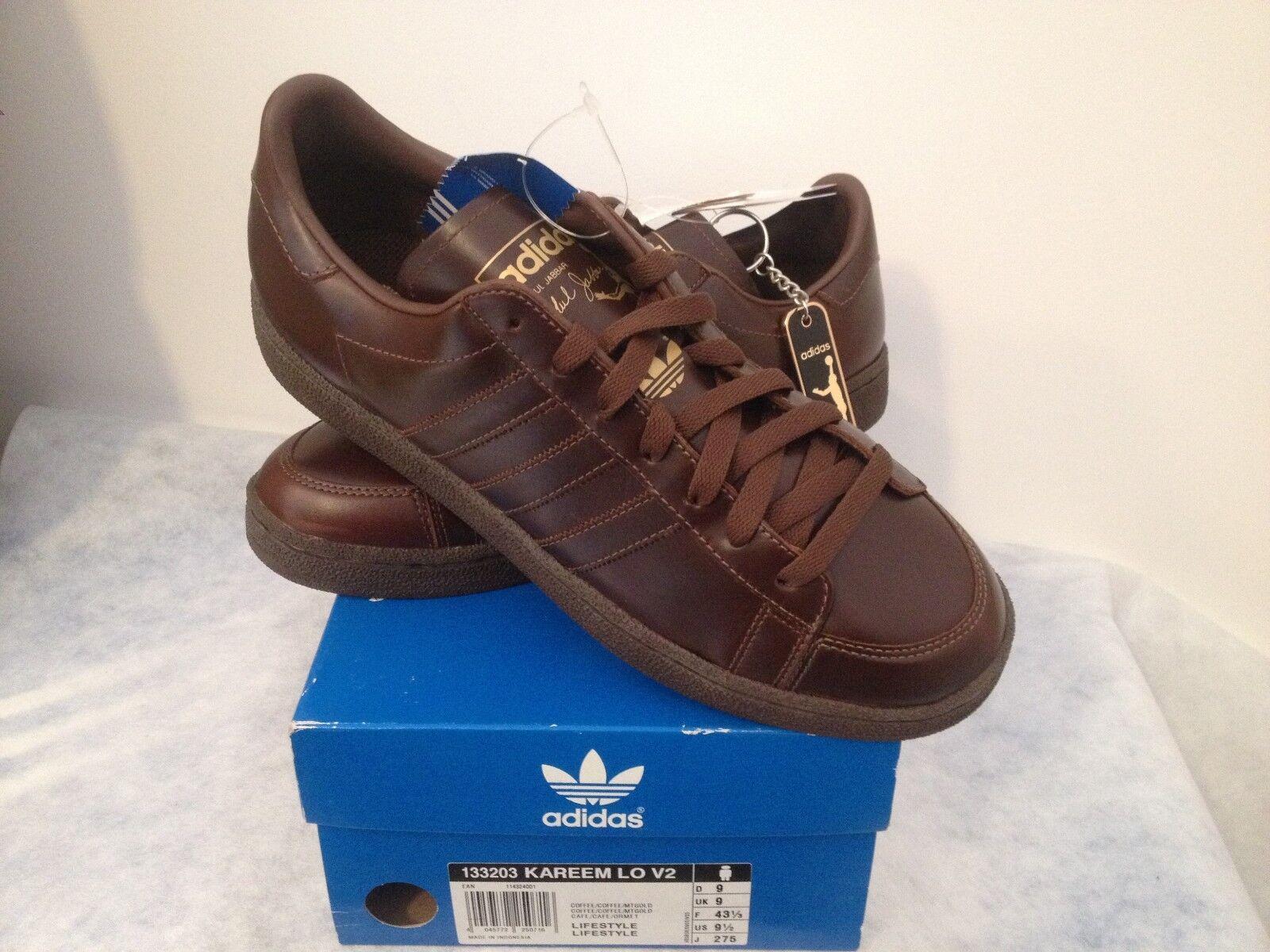 adidas Kareem in 10 44 UK 9.5 US 10 in neu BNWT Sneaker Retro Vintage Abdul Jabbar 646ebf