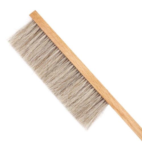 Wood Honey Brush Wasp bee Sweep Two Rows Of Horse Tail Hair Beekeeping Toolshm