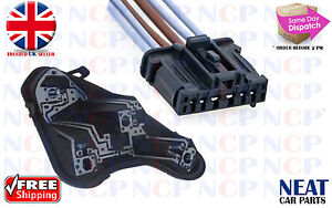 peugeot 308 rear tail light bulb holder wiring connector repair rh ebay co uk peugeot wiring loom connectors 4 Pin Wire Connector
