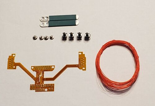 PS4 DS4 1U Mod Kit Facile réaffecter Board avec 2 Vert pagaies CUSTOM À faire soi-même Bouton cartes