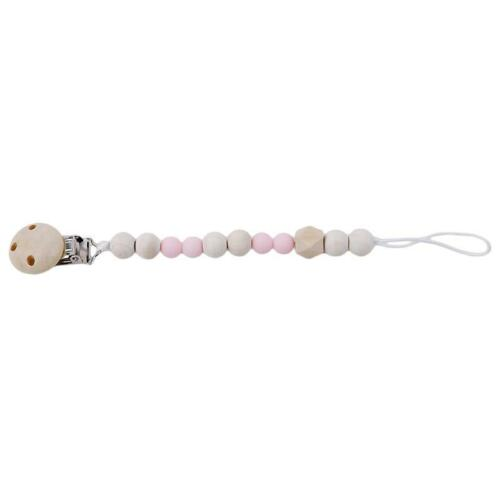 Baby New Pacifier Chain Clip Holder Wooden Nipple Leash Strap Pacifier Soother Z