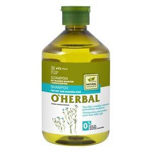 Elfa-Pharm-o-039-herbal-Champu-Para-El-Cabello-Seco-Y-Danado-Con-Extracto-De-Lino-500-Ml