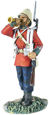 BRITAINS SOLDIERS ZULU BRIT 24TH FOOT BUGER STANDING WB20145 military/metal