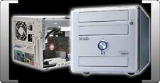 AOPEN XC CUBE EZ482 AMD SOCKEL 939 ATI RS482 X300 FIREWIRE VGA PEARL WHITE WEISS