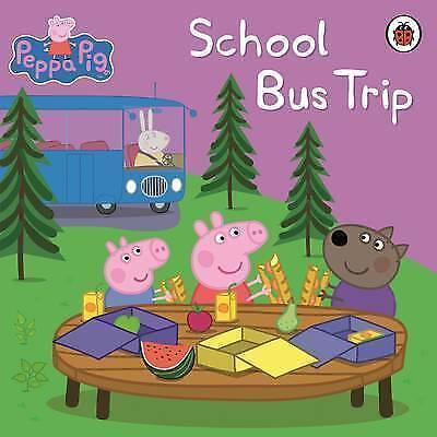 """AS NEW"" Peppa Pig: School Bus Trip, Ladybird, Book"