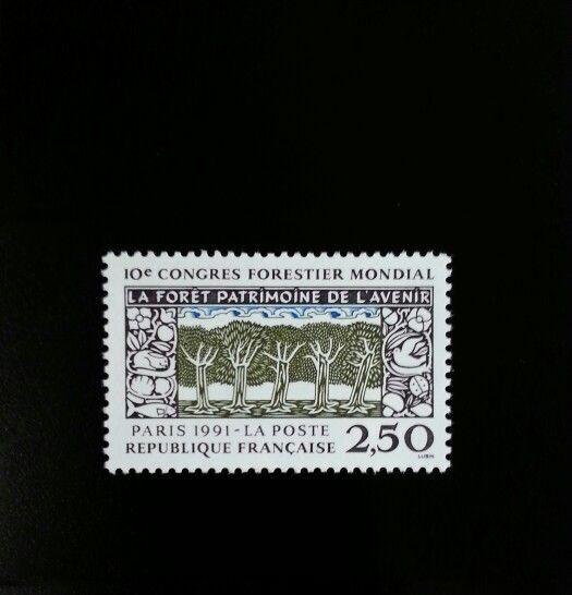 1991 France 10th World Forestry Congress Scott 2265 Min