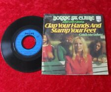 """Single 7"""" Bonnie St. Claire - Clap your hands and stamp your feet"""