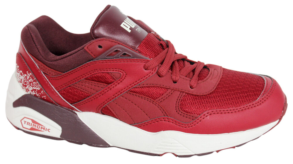 Puma Trinomic R698 Sports Women Trainers Running shoes Red Red Red Lace 357331 06 U98 db6c81