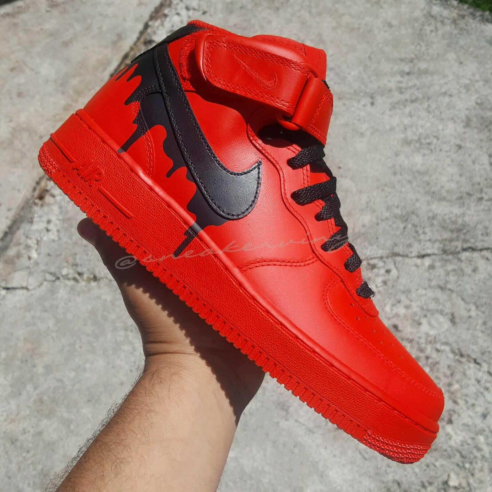 air force 1 mid bianche