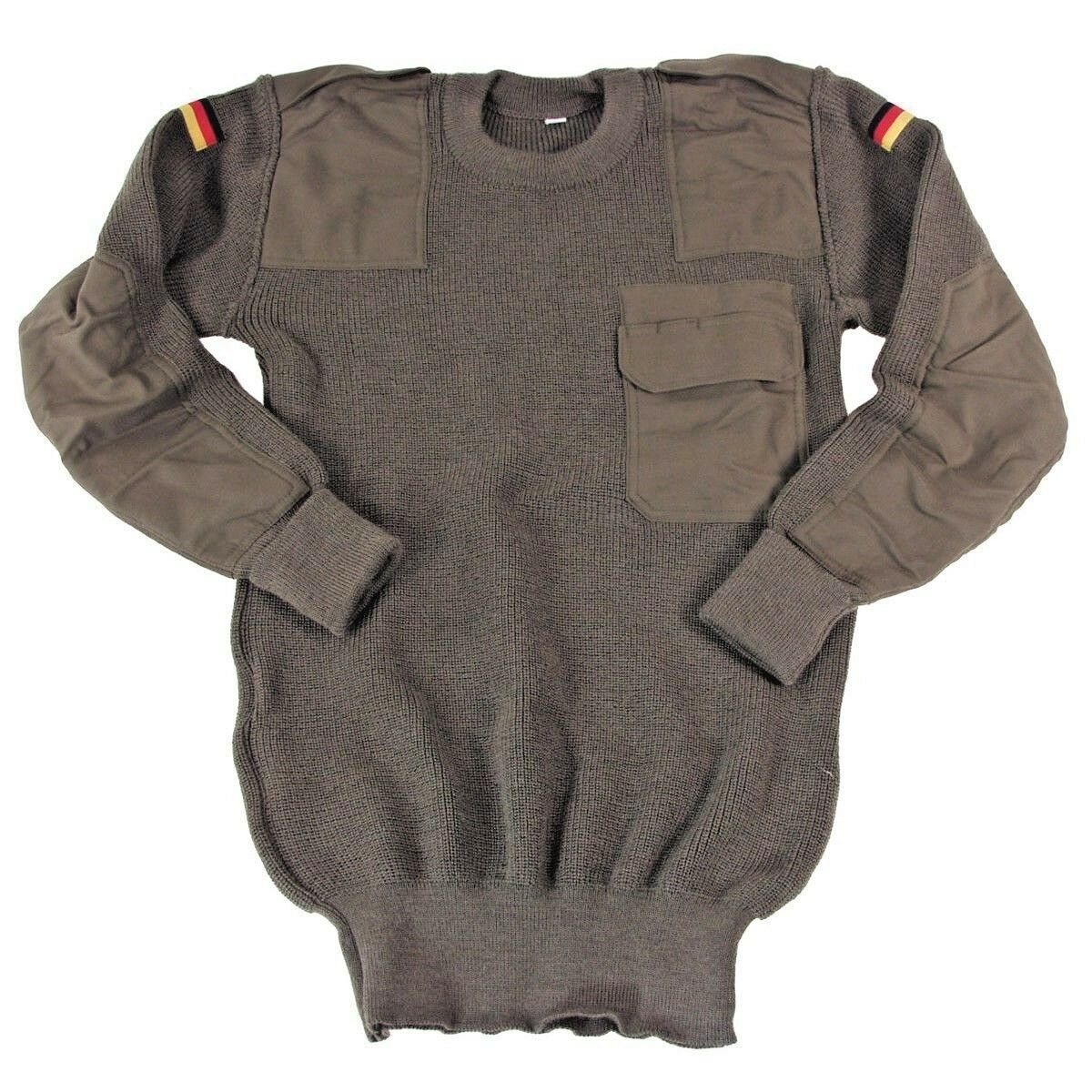 BW Pullover oliv Original Bundeswehr 46 - 56 Army Armeepullover Army 56 Winter Pullover 76f4b9