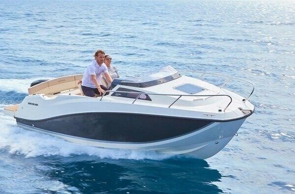 Quicksilver 555 Cabin m/Mercury F115 hk EFI..., Motorbåd,