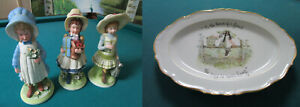 HOLLY-HOBBIE-FIGURINES-GIRLS-AND-TRAY-TO-THE-HOUSE-OF-A-FRIEND-PICK-ONE