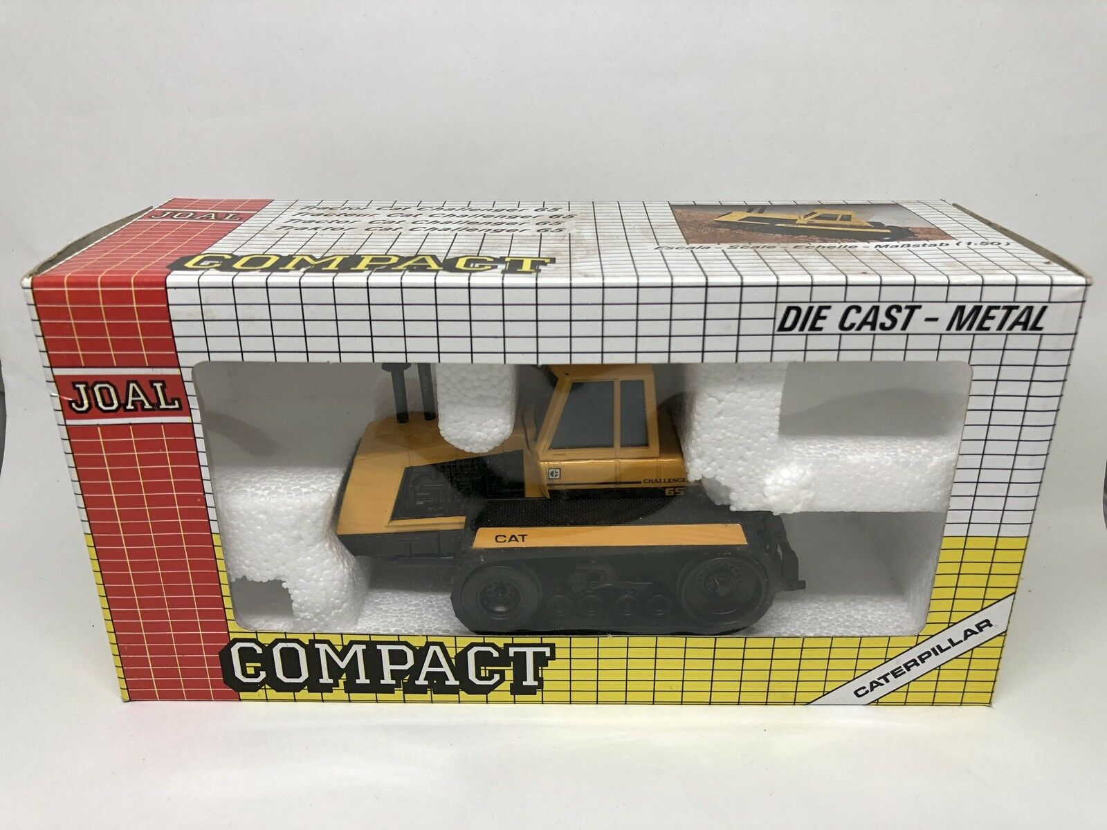 JOAL 233 Caterpillar Challenger 65 Tractor 1:50 1:50 1:50 Scale New In Box Made In Spain b597f5