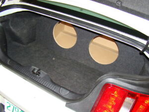 "2005-2014 Ford MUSTANG SUB BOX Subwoofer Box 2-10"" (type 1)"