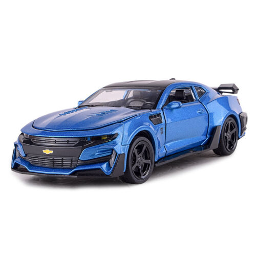 Diecast Vehicles Scale 1:32 Chevrolet Bumblebee Comero Sound Light Model Car