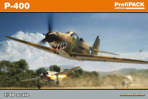 Eduard 1//48 WWII US Bell P-400 Airacobra ProfiPACK