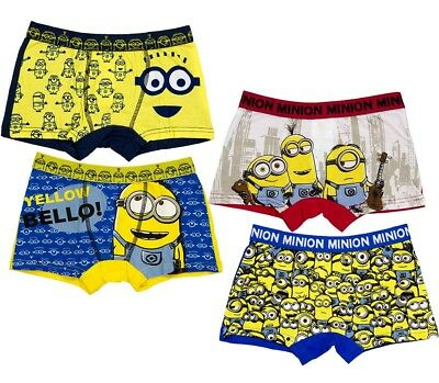 2 Pairs Boys Official Licensed Character Underwear BoxersBoxer ShortsPants