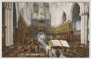 Yorkshire-North-postcard-Ripon-Cathedral-Choir-A58