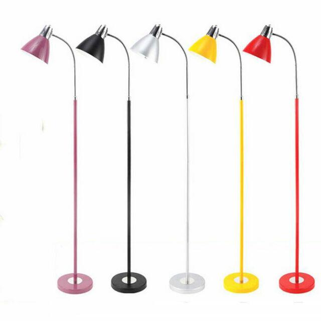 Led Floor Lamp Black Purple Yellow Red
