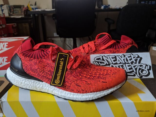 adidas Ultra Boost Uncaged Solar Red Size 9 Bb3899