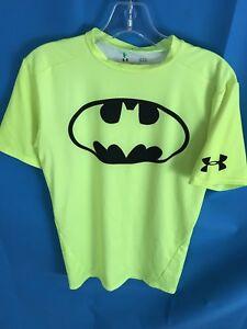 da02bacf Men's UNDER ARMOUR Alter Ego Compression Shirt Batman Neon Yellow ...