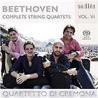 Ludwig van Beethoven - Beethoven: Complete String Quartets, Vol. 6 (2016)