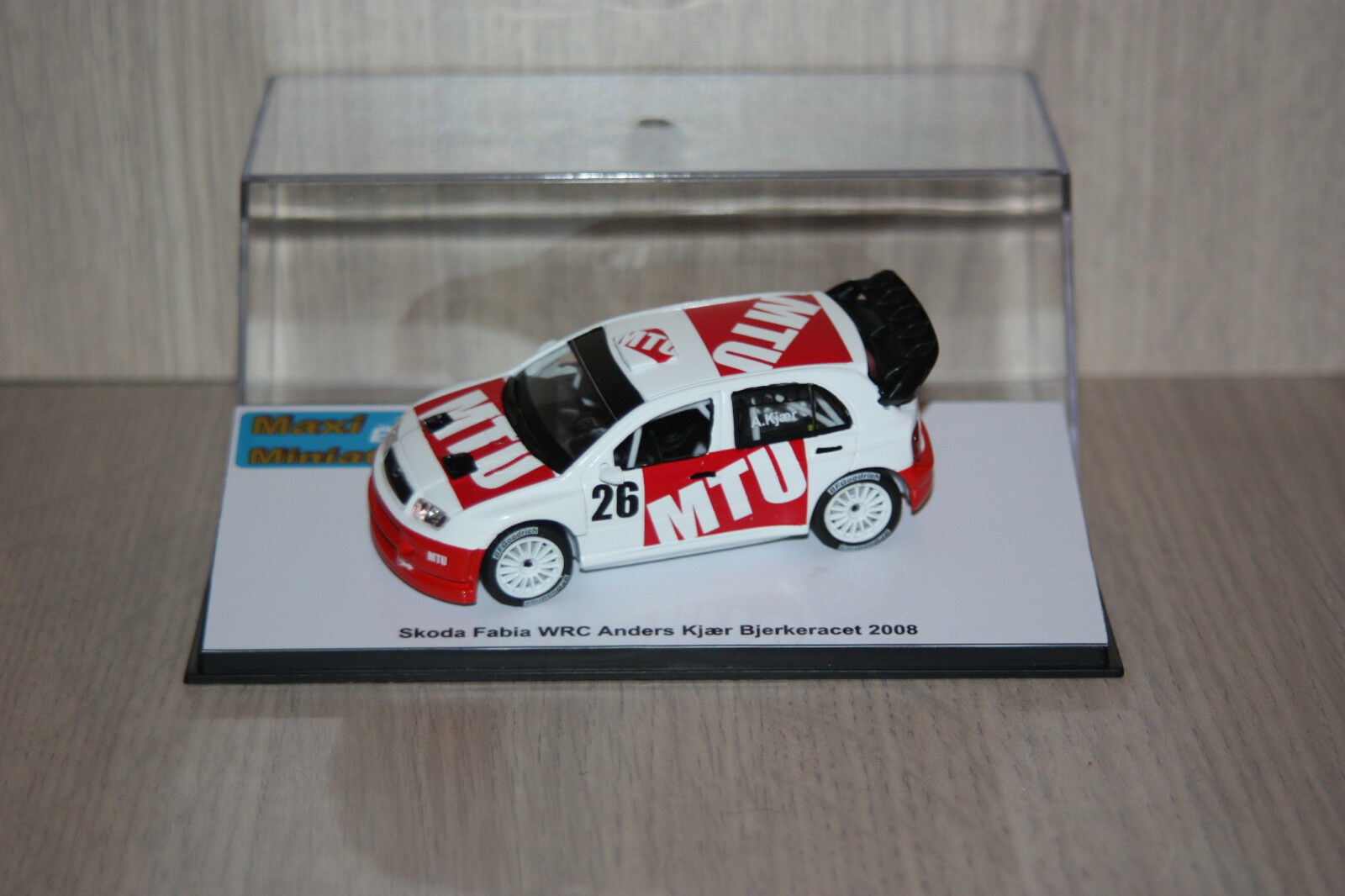 Skoda Fabia WRC Anders Kjaer Bjerkeracet 2008 1 43e