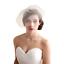 Wedding-headdress-Bridal-Feather-net-bow-Birdcage-Face-Veil-Fascinator-veils-cap thumbnail 5