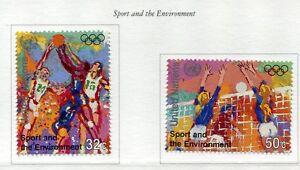 19274-UNITED-NATIONS-New-York-1996-MNH-Sport-2v