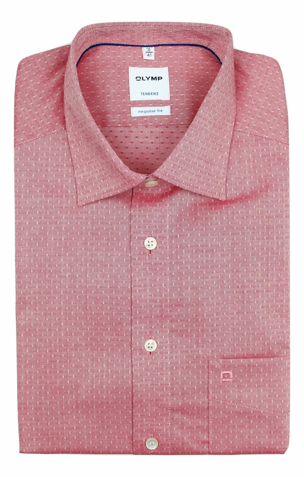 Red Raindrop Spread Collar