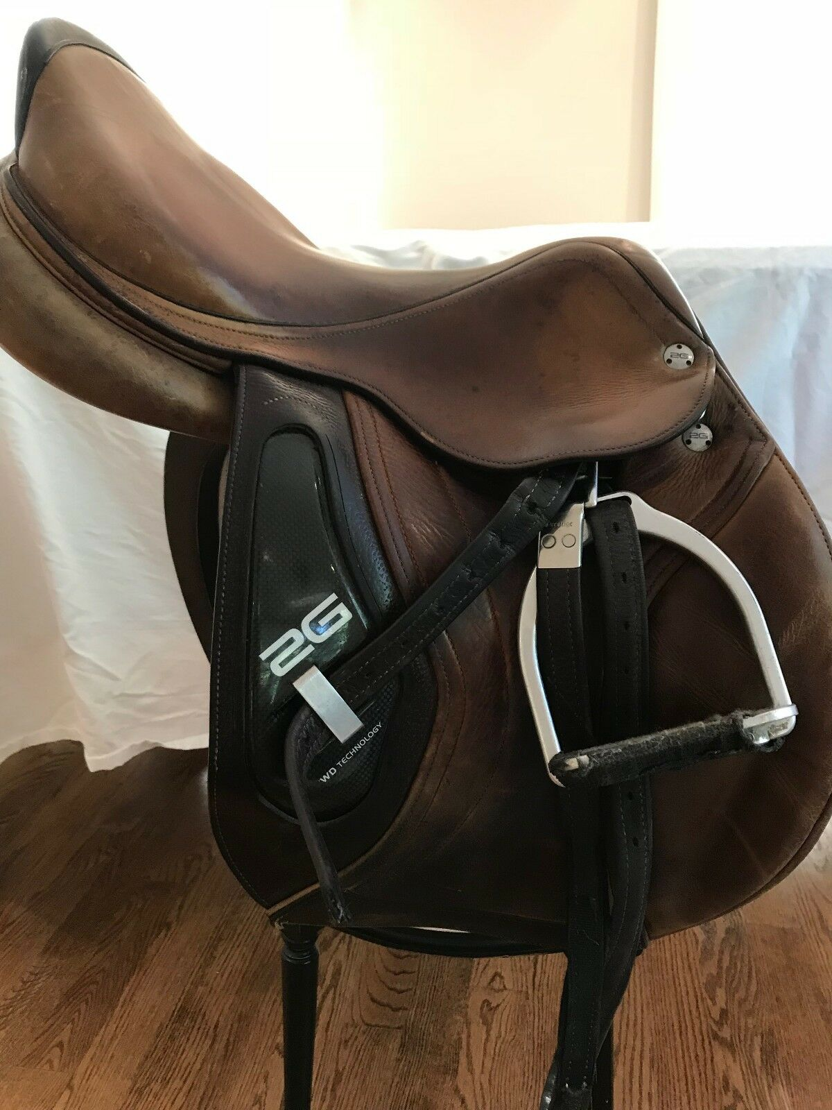 Used Deep Seat 17.5  CWD 2G Saddle