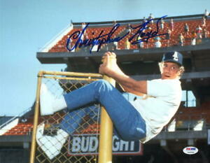 CHRISTOPHER-LLOYD-SIGNED-11X14-PHOTO-BACK-TO-THE-FUTURE-ANGELS-OUTFIELD-BAS