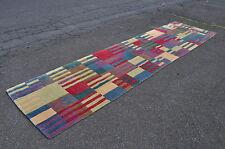 "Hand Crafted In Nepal Tibetan Carpet Runner 12' 2"" x 34"""