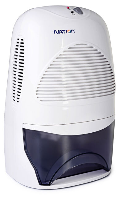 Ivation Powerful Mid-Size Thermo-Electric Dehumidifier - Quietly Gathers 20 oz.