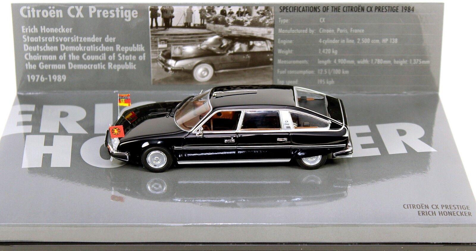 1 43 Minichamps 436111400 Citroën CX limusina  DDR-Erich Honecker  1984 Nuevo En Caja