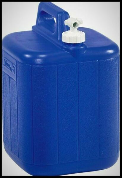 Large Water Jug Container Camping Coleman 5 Gallon Hiking Emergency Outdoor for sale online
