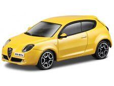 Alfa Romeo Mito 2011 - Yellow 1/43  By burago Model Car refboxz6