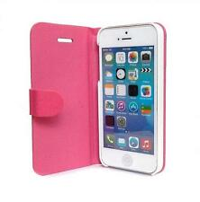 Pink iPhone 5 Flip Cover with Auto-Sleep Function