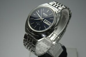 OH-Vintage-1970-JAPAN-SEIKO-LORD-MATIC-WEEKDATER-5606-7150-23Jewels-Automatic