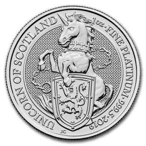2019-Great-Britain-1-oz-Platinum-Queen-039-s-Beasts-The-Unicorn