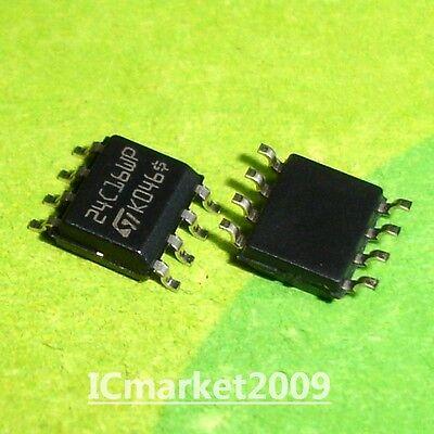 50 PCS M24C16-WMN6TP SOP-8 24C16WP SOIC-8 1Kbit Serial I2C Bus EEPROM new
