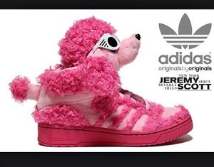 buy online 29bdd e6931 Image is loading 2013-ADIDAS-OBYO-X-JEREMY-SCOTT-POODLE-ORIGINALS-