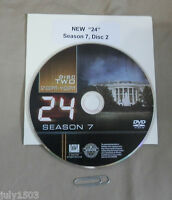 24 Season 7 Disc 2 Replacement Dvd, Free Shipping