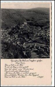 Schwarzburg-Thueringen-AK-1930-40-Gesamtanaishct-vom-Trippstein-ungelaufen