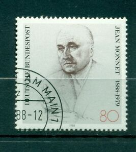 Allemagne-Germany-1988-Michel-n-1372-Jean-Monnet