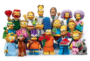 LEGO Minifigures Simpsons Serie 2 SERIE COMPLETA-E Nuovo Di Zecca Sigillato in Fabbrica