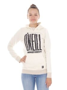 O-039-Neill-Fleece-Pullover-Hoodie-91-X-Treme-White-Elastic-Functional