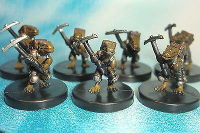 Dungeons & Dragons Miniatures Lot  Kobold Miner Underdark !!  s104