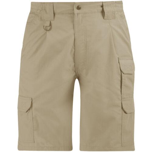 Propper Mens Tactical Shorts Cargo Bermuda Military Summer Ripstop Pants Khaki
